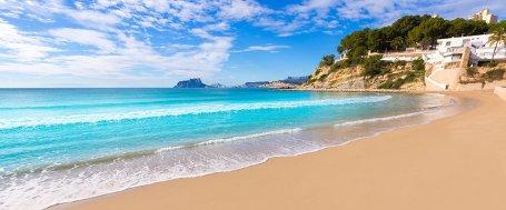 moraira beach