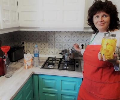 priprava limoncela IV